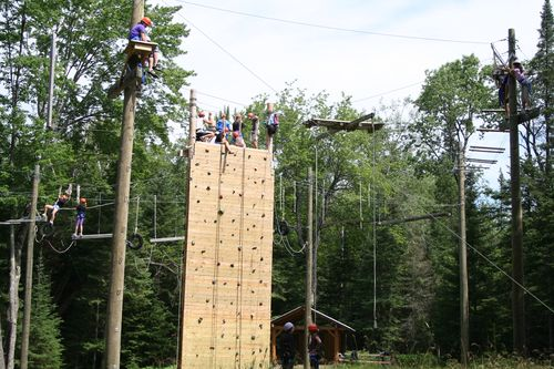 Copier Color Chain- Campers - High Ropes Course 085