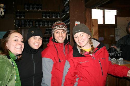 Robyn, Krista, Greg, Katrina